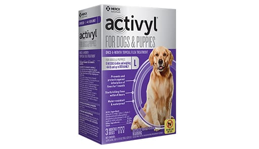 Activyl Topical Treatment of Fleas