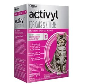 ACTIVYL Feline- Topical Liquid for Fleas