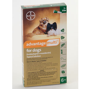 Advantage Multi - Heartworm + Flea(prescription only)