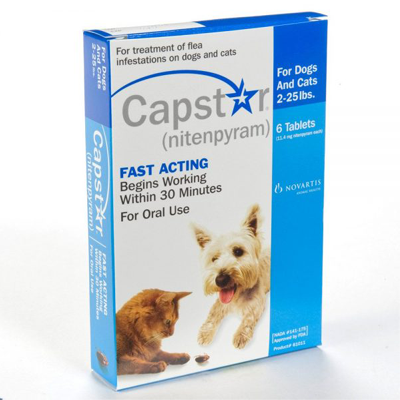 Capstar-Tablet for Fleas(Lasts 24 Hours Only)