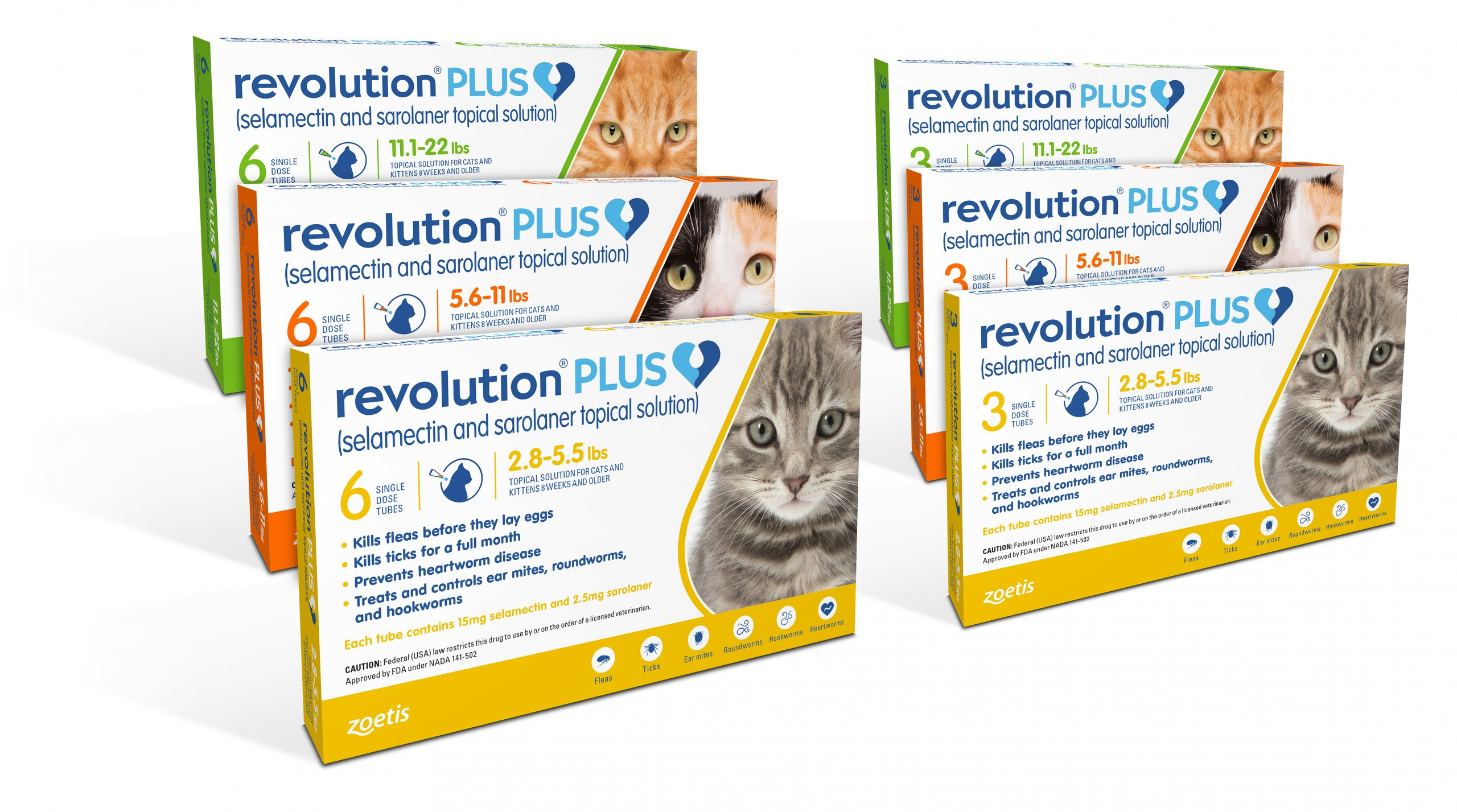 Revolution Plus (Feline) Rx