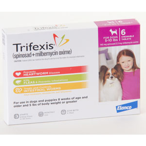 Trifexis - (Prescription only)